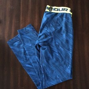 UA leg day leggings